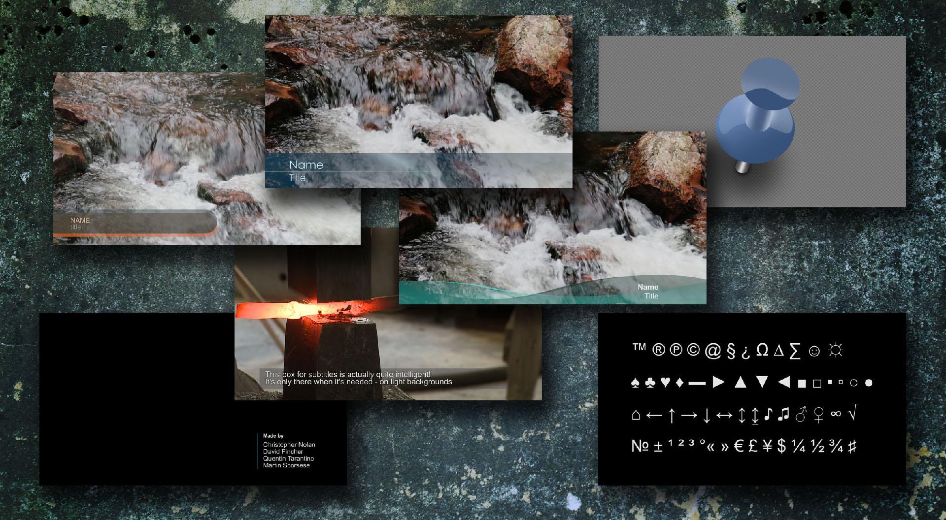 Premiere Pro Title Collection - PremierePro.net