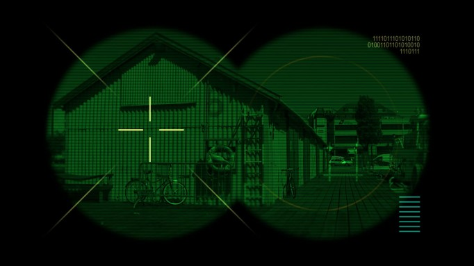 Night Vision Binoculars HUD - PremierePro net
