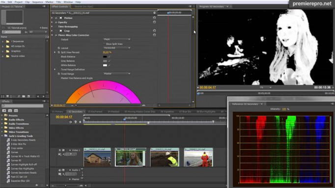 Color grading and finishing in Premiere Pro CS5 5