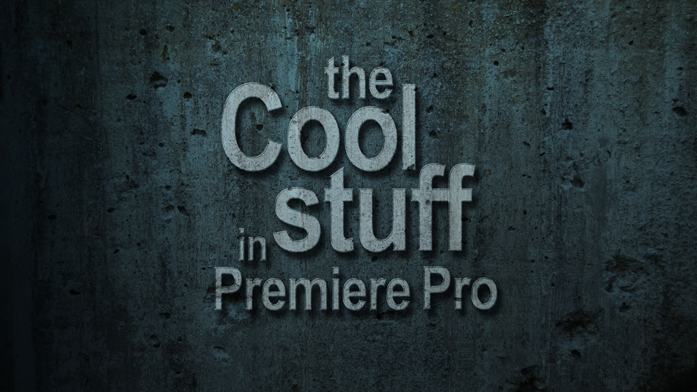 The cool stuff in premiere pro premierepro the cool stuff in premiere pro ccuart Image collections