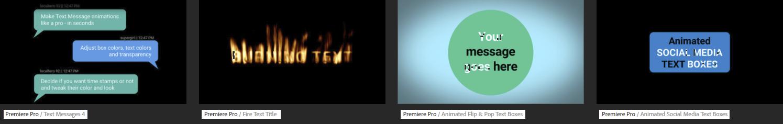 flexible motion graphics templates for premiere pro premierepro net