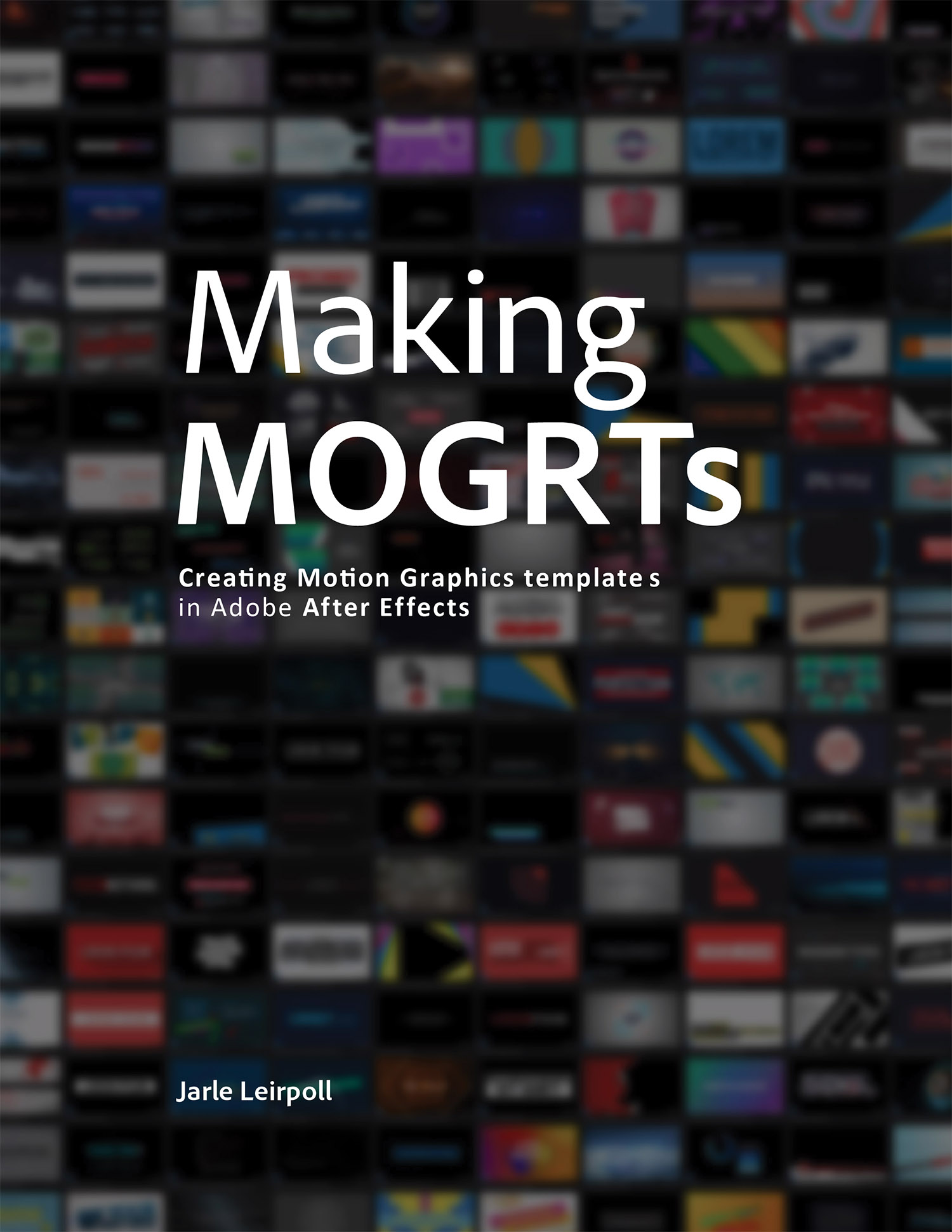 Free eBook on Making MOGRTs - PremierePro net