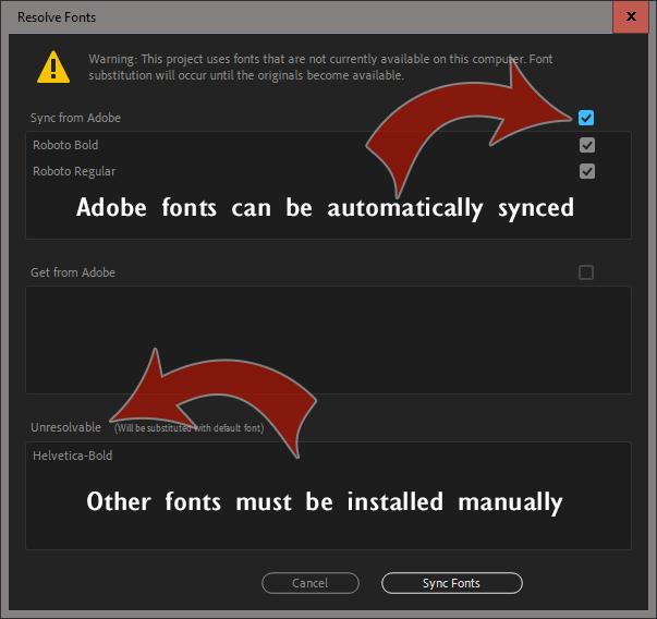 Free Fonts for MOGRTs - PremierePro net